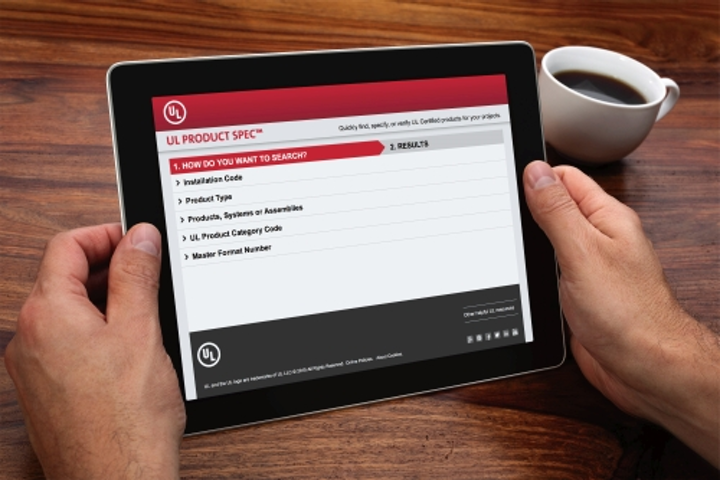 UL Product Spec search tool is available to select UL Certified products
