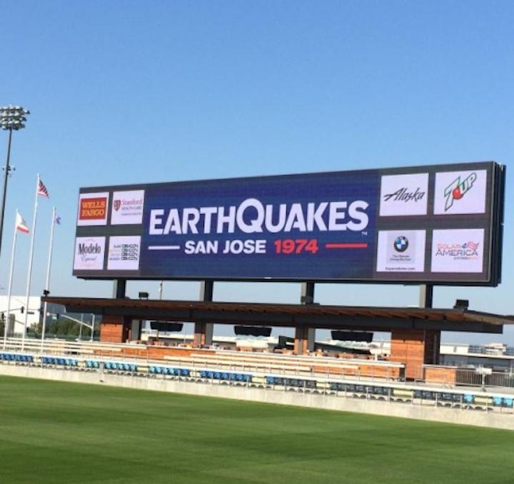 Daktronics LED displays shake up San Jose Earthquakes soccer fan experience