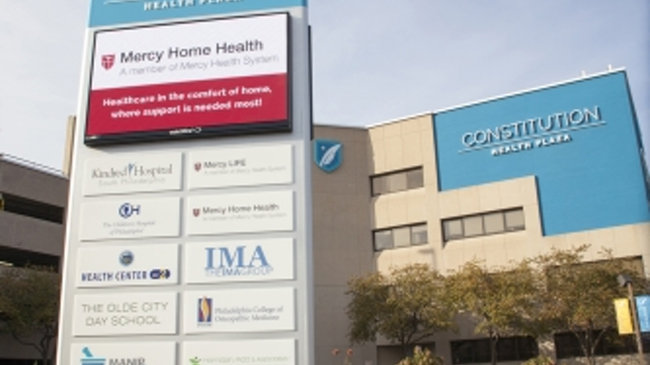 Constitution Health Plaza leverages Watchfire LED signage for hospital visibility