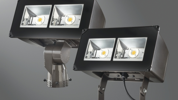 Cooper Lighting replaces up to 400W MH fixtures with Lumark LED floodlights