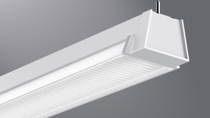 Eaton's Cooper Lighting linear LED luminaire provides direct/indirect illumination in open-ceiling environments
