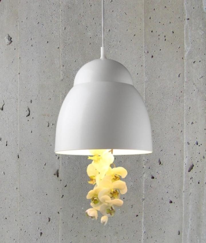 Designer Jan Flook launches Bloom decorative pendant light