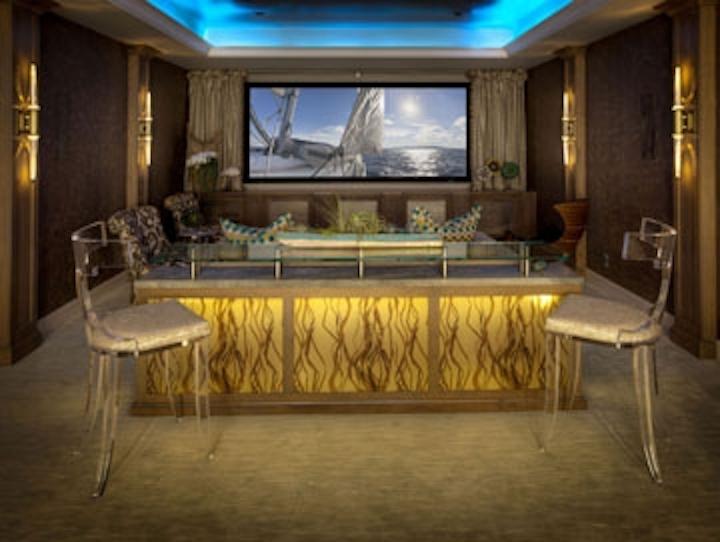 Nora Lighting LED tape light illuminates House of Design showplace