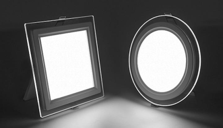 Super Bright LEDs adds decorative edge-lit LED flat panel lighting to product line