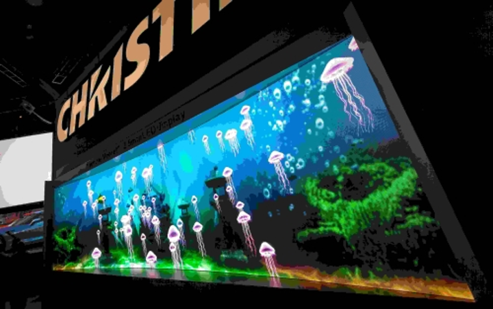 Christie debuts new LED and other digital signage products and services at DSE 2015