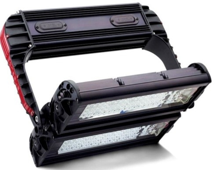 Ephesus Arena Pro-Court LED sports lighting is color-tunable to meet broadcast standards