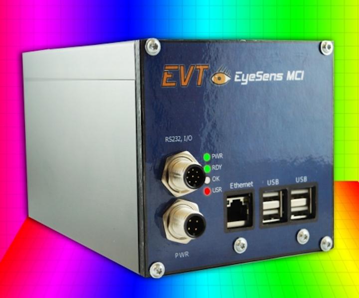 EVT's EyeSens MCI delivers multicolor inspection on LED manufacturing lines