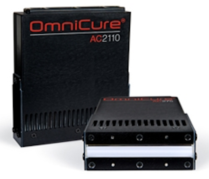 Excelitas Technologies unveils OmniCure AC2 Series UV-LED curing systems