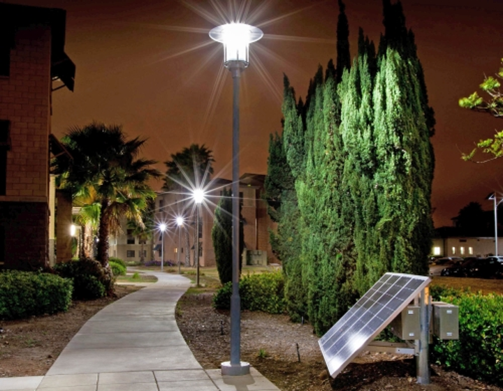 SEPCO supplies solar-powered LED outdoor lighting to California Marine base