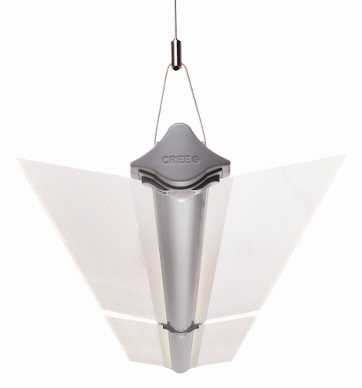 Cree develops light-guide based LED fixtures for offices and garages