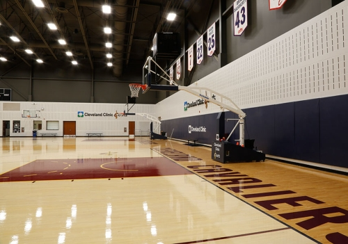 Cleveland Cavaliers Light Nba Practice Facility With Ge