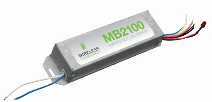 Wireless Environment introduces MB2100 Series compact emergency LED drivers