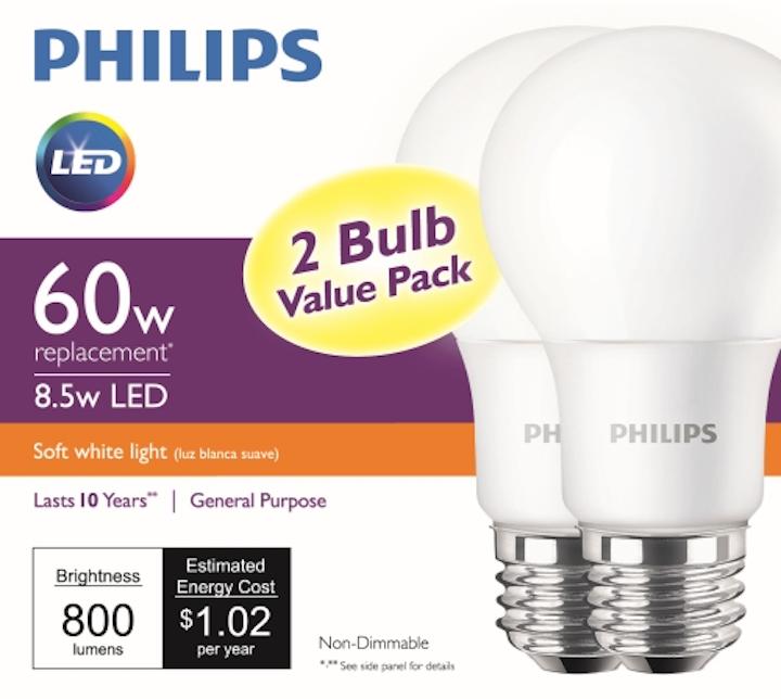Philips Lighting delivers sub-five dollar 60W-equivalent LED retrofit lamp