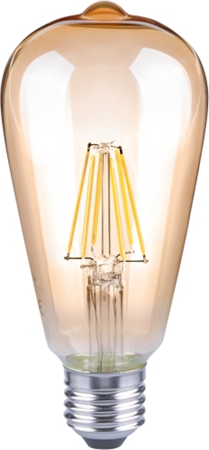 LUX Technology and Lattice Power partner to produce first dimmable, UL Certified, Edison-style LED filament bulb