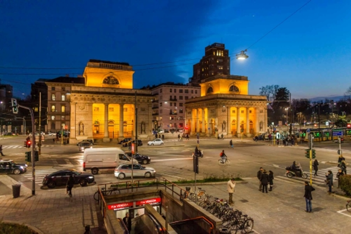 Osram lighting control system supports LED retrofit in Milan