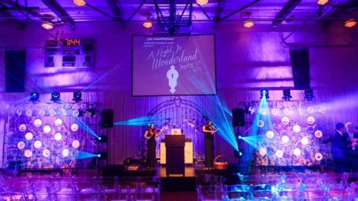 Chauvet LED panels bring Lewis Carroll's Wonderland spirit to life at NY event