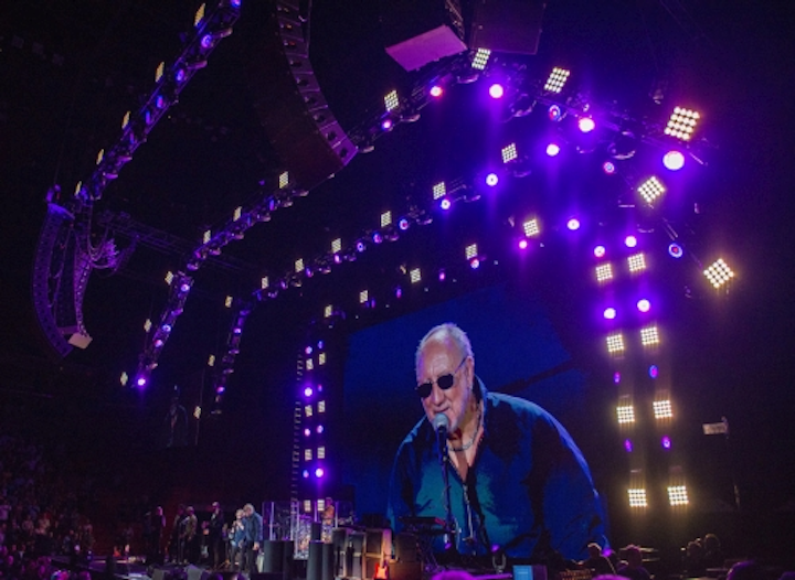 Chauvet Professional Nexus LED panels add pop to 'The Who Hits 50!' concert tour