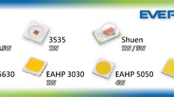Everlight exhibits LED components for lighting and automotive applications at LFI 2015