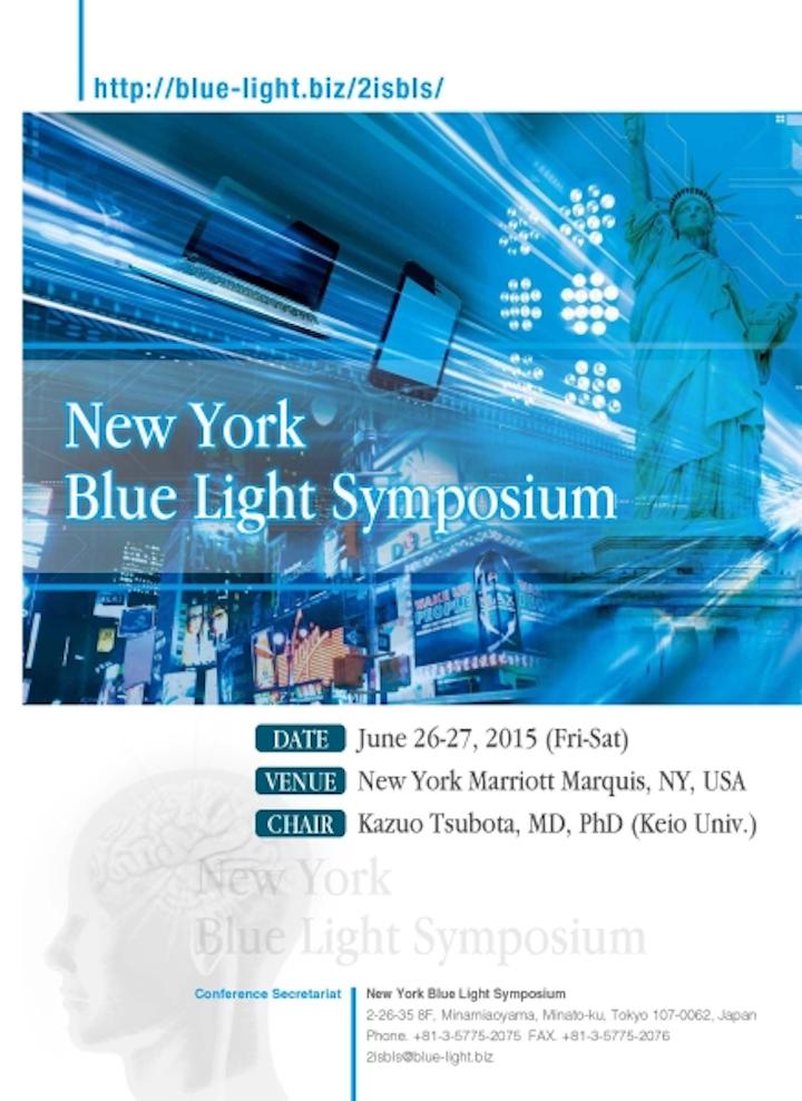 New York Blue Light Symposium will address topics surrounding blue-light emitters