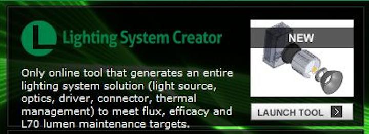 Future Lighting Solutions offers online lighting system design tool