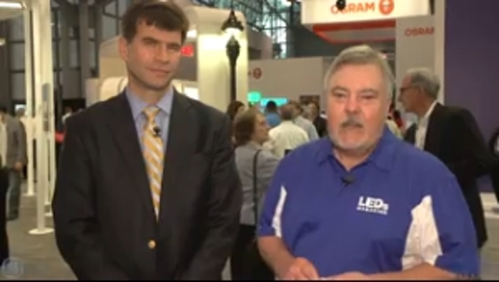 LEDs Magazine Highlights from LightFair – GE Lighting addresses outdoor lighting, smart cities, color quality (VIDEO)
