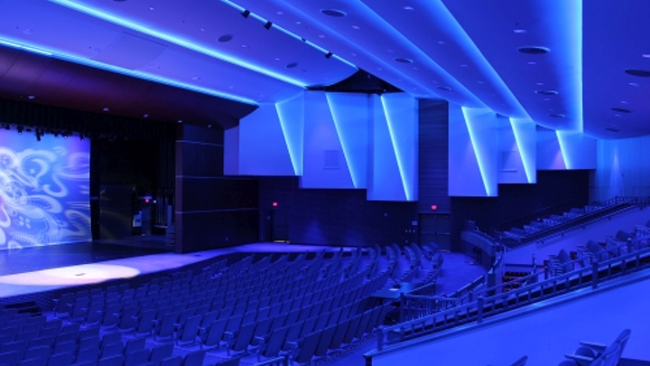Smith Auditorium installs entertainment lighting products from Philips Strand Lighting