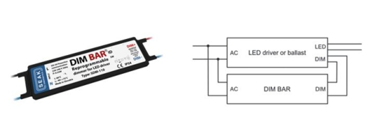 SEAK delivers LED dimming module for retrofit and new lighting installations