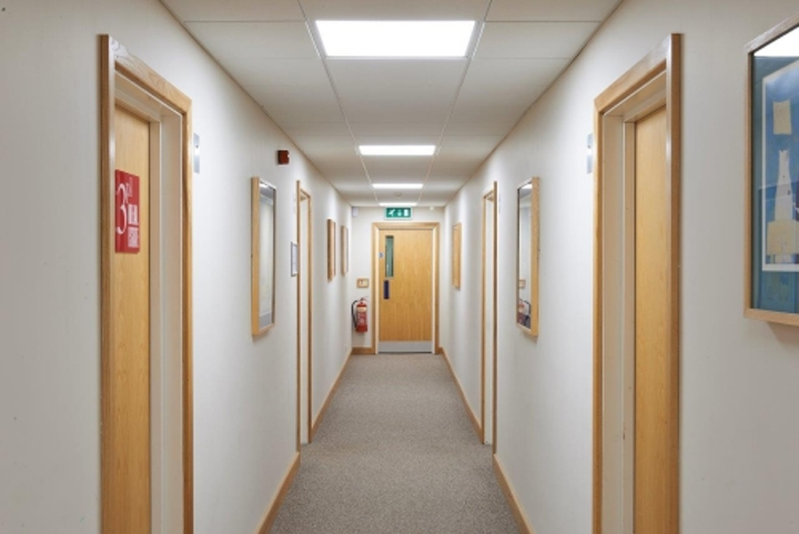 Zeta Specialist Lighting helps refurbish commercial building with LED ceiling panels