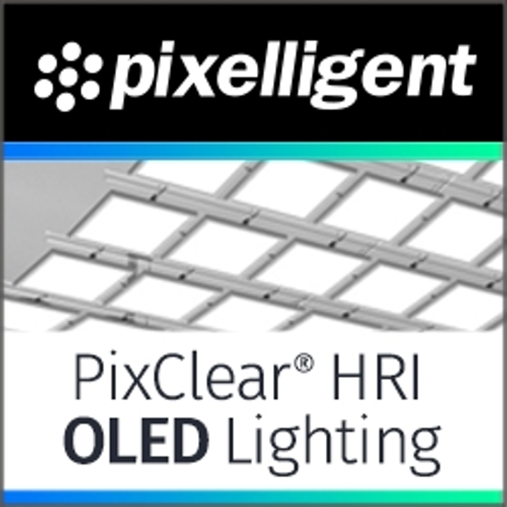 Pixelligent launches new PixClear light extraction materials for OLED lighting