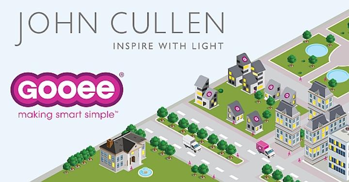 John Cullen Lighting partners with Gooee for integration of smart lighting technology