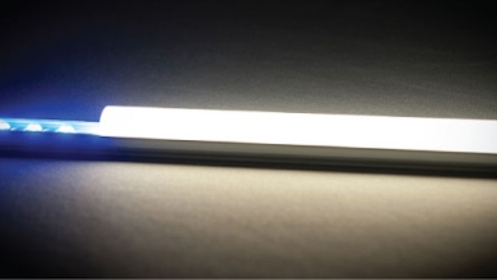 Plessey and 8Point3 to produce high-efficiency architectural LED lighting, will exhibit at LuxLive