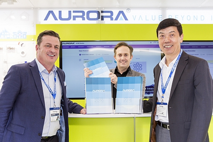 Aurora Group unveils 2016 Catalogue of LED lighting products and services at LuxLive