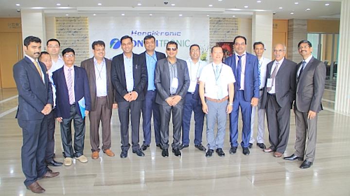 LED component manufacturer Honglitronic hosts Indian delegation promoting sustainable SSL