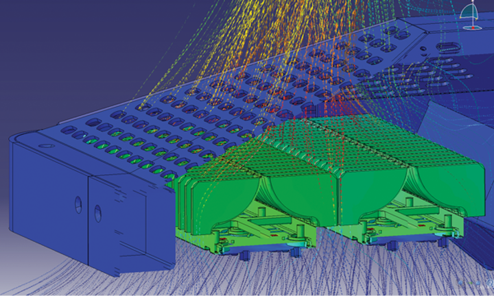 Simulation enables optimum LED street light heat-sink design (MAGAZINE)