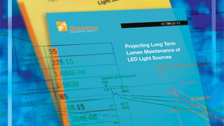 IES updates LED Lumen Maintenance document (MAGAZINE)