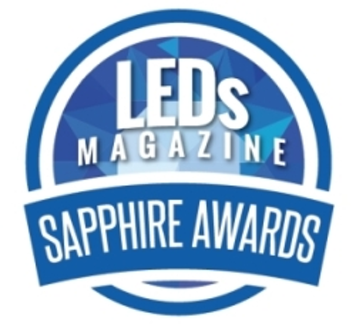 LEDs to fixtures nab finalist positions in LEDs Magazine Sapphire Awards