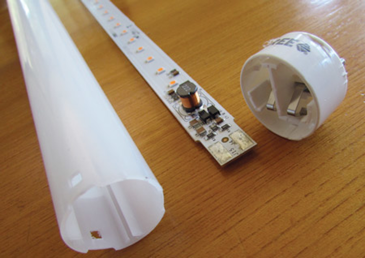 Hands-on testing of popular LED T8 lamps and linear fixtures