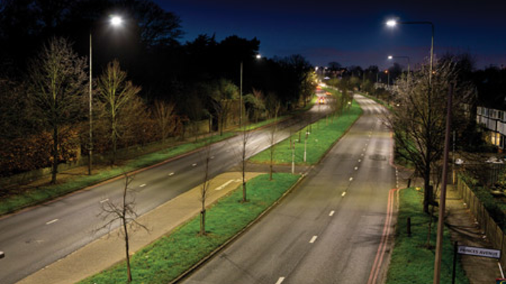 Transport for London revamps the bright lights of the UK capital with LED street lighting