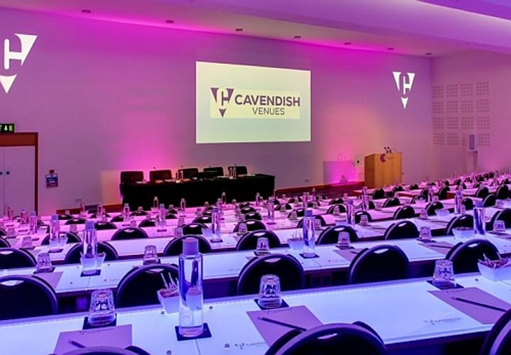 Connected lighting from UK startup amBX allows dynamic illumination at London conference center