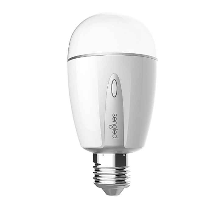 Sengled Element Touch smart LED lamp features touch and wireless controls, CCT adjustment with light level