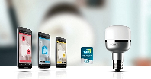 Burglar deterrent: LED bulbs know how and when to switch on as if you're at home