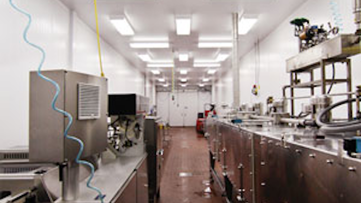 Go green and clean with industrial LED lighting for food and beverage manufacturing (MAGAZINE)