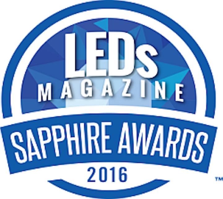 Second annual Sapphire Award winners exemplify advances in SSL technology (MAGAZINE)