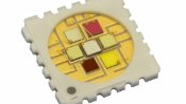 Packaged LEDs, LED Engin integrates seven colors, Lumileds and Osram Opto