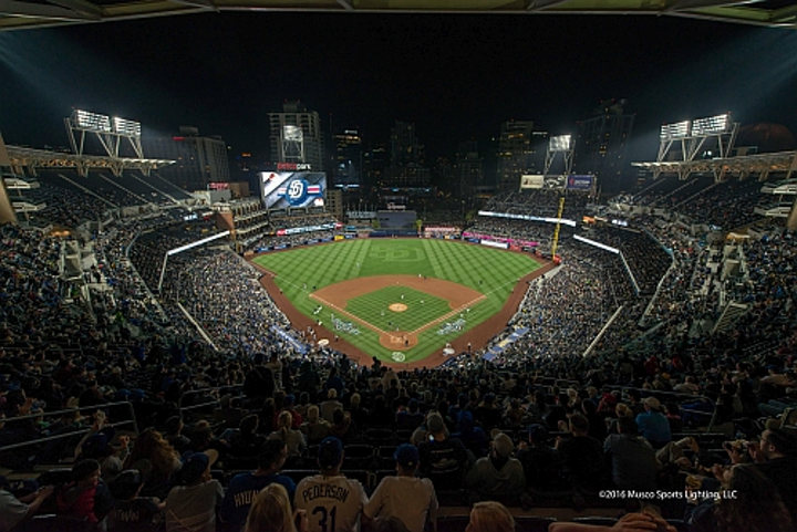 New LED sports lighting projects extend the energy savings, control, and special effects capabilities of SSL to America's Pastime.