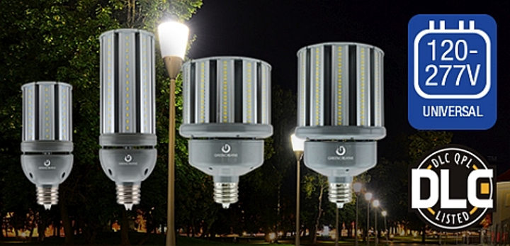 Green Creative releases DLC qualified, universal-voltage LED lamps for HID replacement