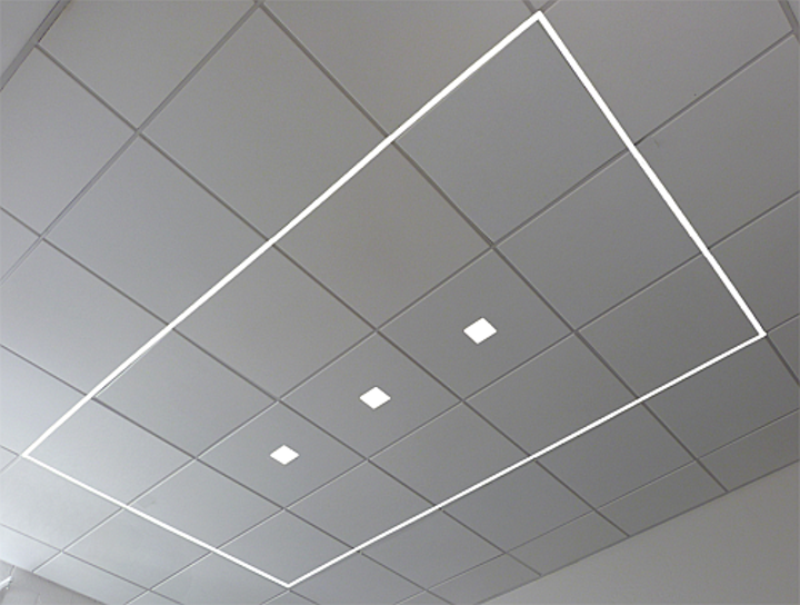 Goldeneye linear LED lighting can be integrated into architecture