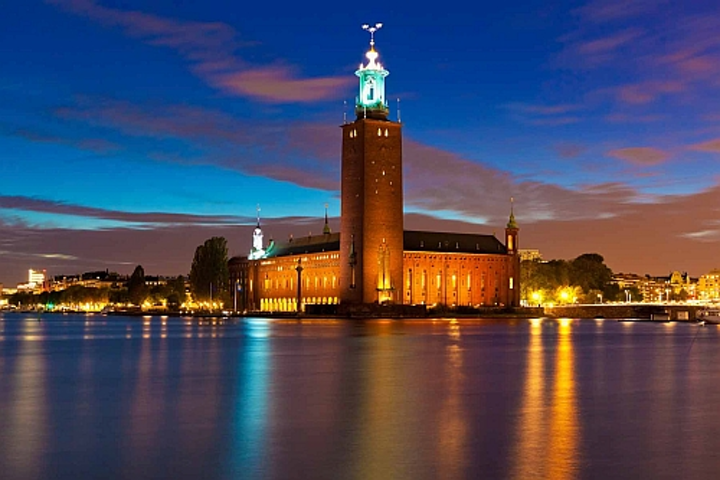 Osram smart lighting app lets TV viewers relight Stockholm in response to Eurovision song contest