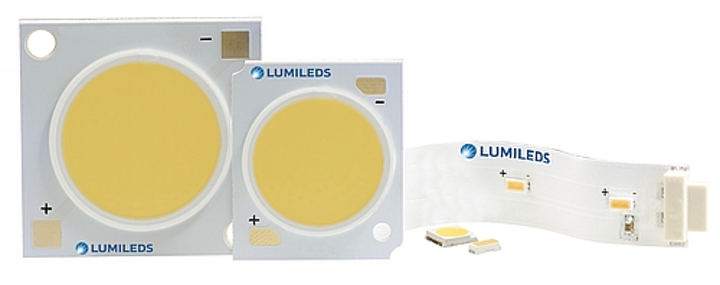 Lumileds customizes packaged and COB LEDs' SPD for fashion, food, and restaurant lighting