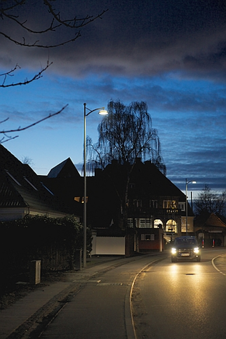 Thorn's Thor LED luminaires bring wireless controls to Copenhagen street lighting project